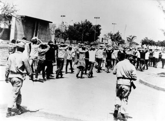 PM e Exército Invadem a UnB em 1968
