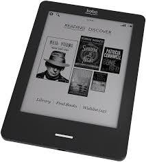 Leitor Kobo. Todos os leitores baseados em e-ink têm praticamen.er as mesmas funcionalidades