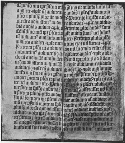 Donatus, manual de ensino de latim, foi o primeiro livro completo impresso por Gutenberg